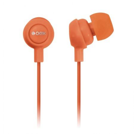 Fone de ouvido Auricular laranja - FN100/LJ - Oex