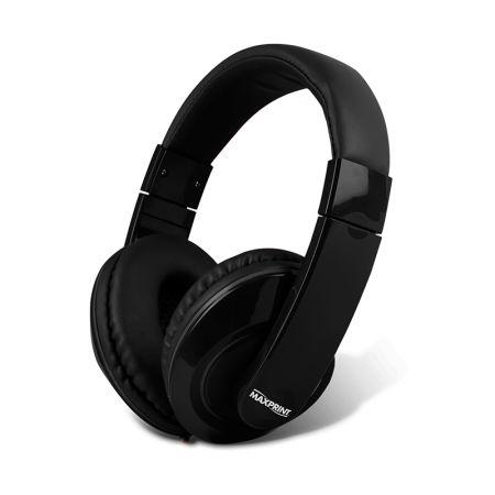 Fone de ouvido arco preto - 601185-1 - Maxprint