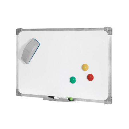 Quadro branco moldura de alumínio Magnético - 20x30cm - 9787 - Board Net