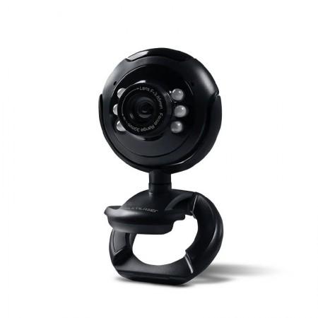 Câmera webcam usb com microfone 16MP - WC045 - Multilaser