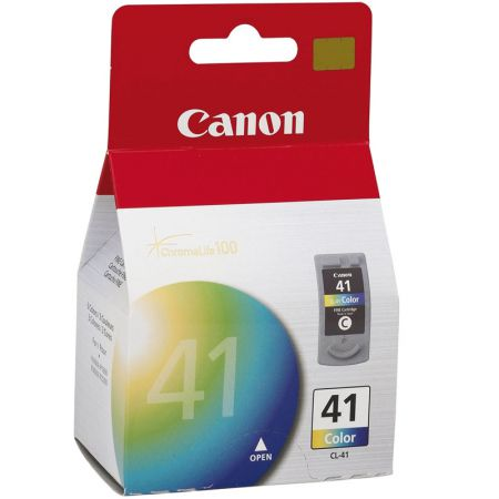 Cartucho Canon CL41 - cores 12ml - serie IP1200/1600/2200/IP1800