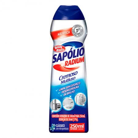Sapólio Radium cremoso 250ml - Bombril