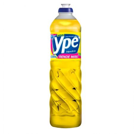 Detergente líquido neutro - com 500 ml - Ypê