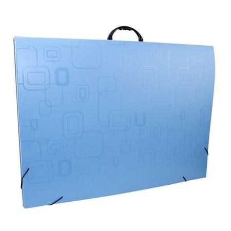 Maleta com alça Dellofine A2 - azul - 2153.C - Dello