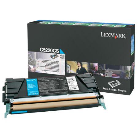 Toner Lexmark C5220CS - ciano 3000 páginas - serie C522