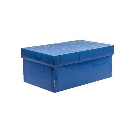 Caixa organizadora mini sapato - azul - 2169.C - Dello