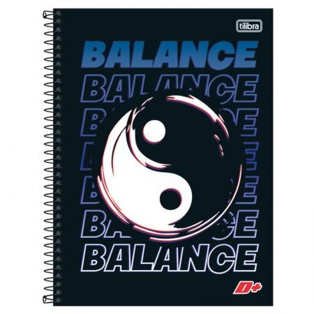 Caderno espiral capa dura universitário 10x1 - 200 folhas - D Mais - Ride the Wave Surf - Tilibra