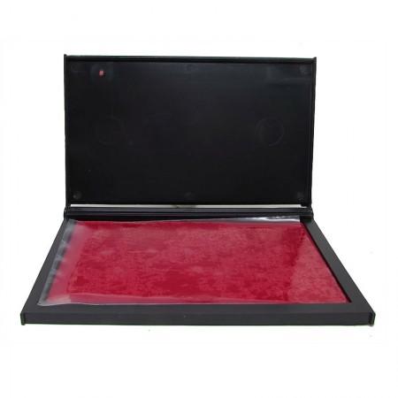 Almofada para carimbo nr 4 - Vermelha - Radex