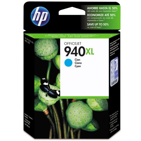 Cartucho HP Original (940XL) C4907AB - ciano