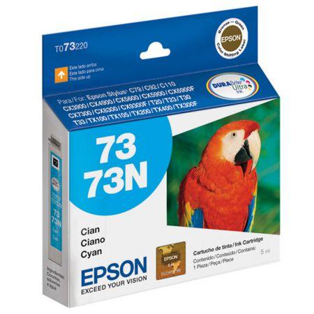 Cartucho Epson (73) T073220 - ciano 360 páginas