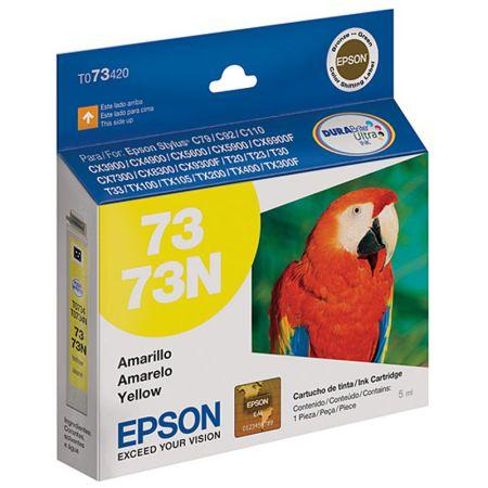 Cartucho Epson (73) T073420 - amarelo 360 páginas