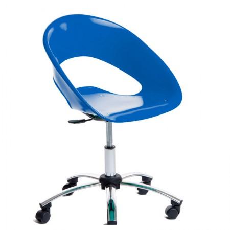 Cadeira One giratória azul - CA0433 - Rossi