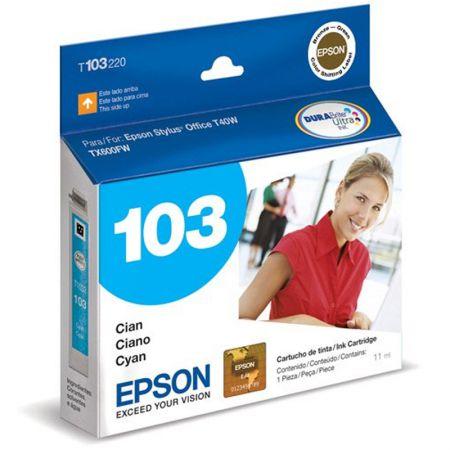 Cartucho Epson (103) T103220 - ciano 815 páginas