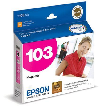 Cartucho Epson (103) T103320 - magenta 815 páginas