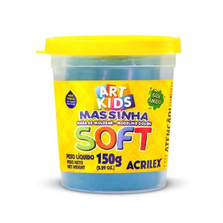 Massa de modelar Soft 150g - Azul 109 - Acrilex