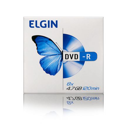 DVD-R virgem 4.7GB - envelope - Elgin
