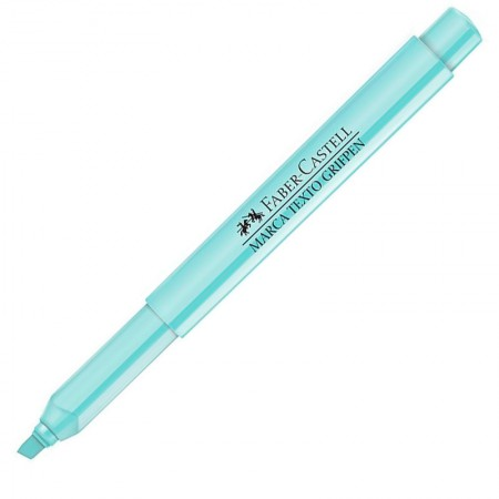 Pincel marca texto Verde Pastel Faber-Castell