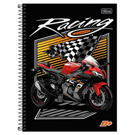 Caderno espiral capa dura universitário 1x1 - 96 folhas - D Mais - Never Quit - Tilibra