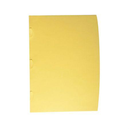 Pasta para contrato Delloclean amarelo 0712A 10 und Dello