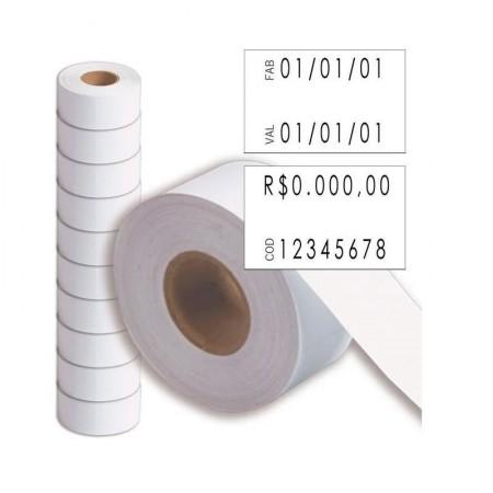 Etiqueta p/ etiquetadora MX2816 10 rolos Fixxar