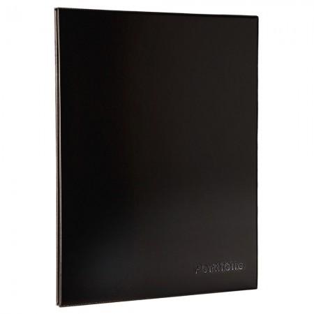 Pasta catálogo sem visor - 508PR - Portfólio A3 - com 10 envelopes plásticos - Dac