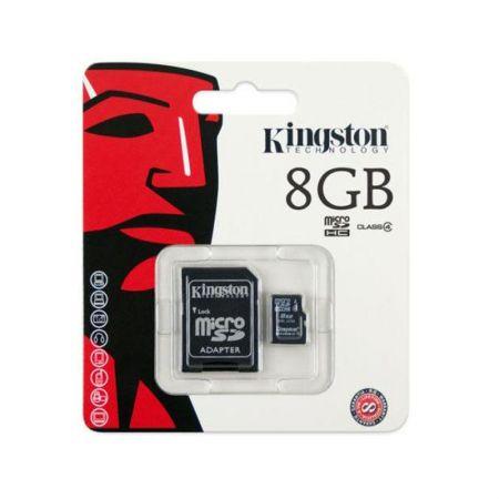 Cartão memória micro SD - 8gb - Kingston