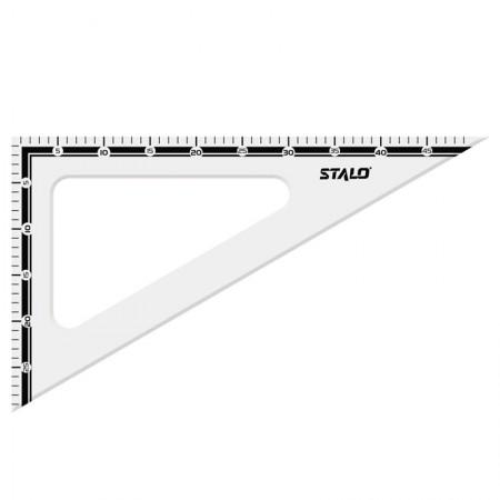 Esquadro de madeira 31cm x 60 graus - 8279 - Stalo
