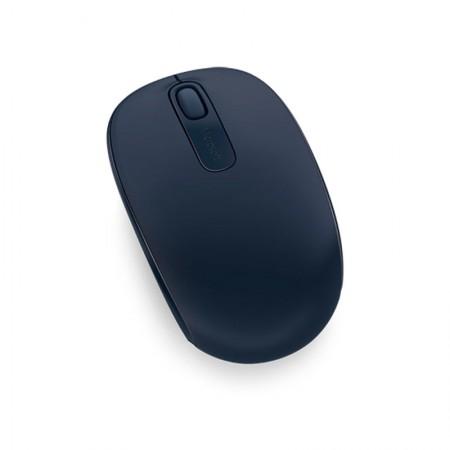 Mouse sem fio óptico U7Z-00018 azul escuro - Wireless Mobile 1850 - MIcrosoft