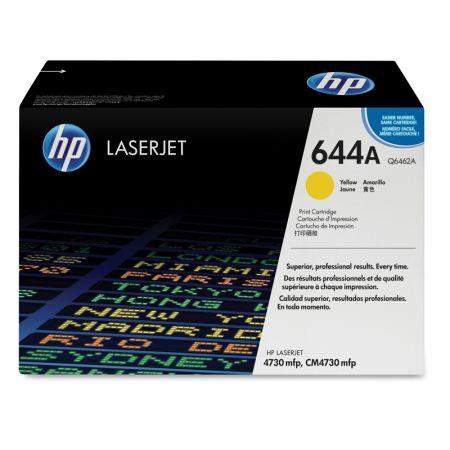 Toner HP Original (644A) Q6462A - amarelo 12000 páginas