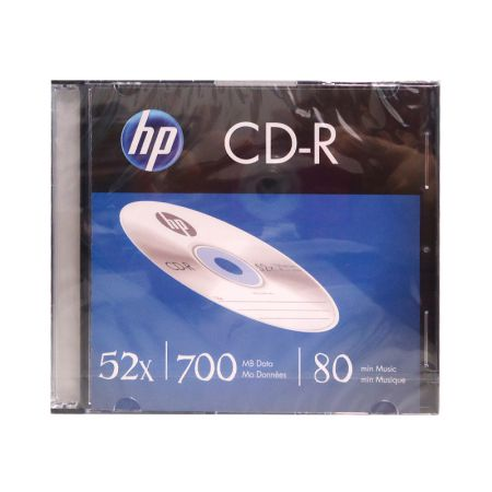 CD-R virgem 700MB 80 minutos - slim - HP
