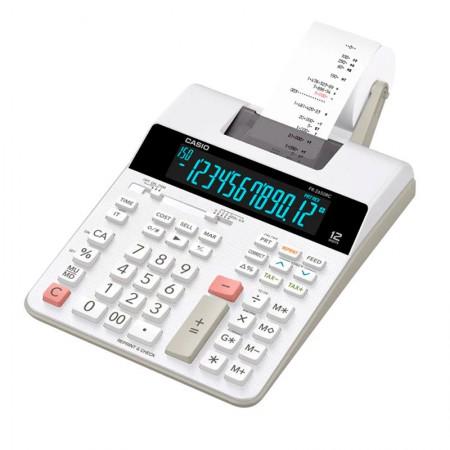 Calculadora de mesa com bobina 12 digitos - FR-2650RC - Bivolt - Casio