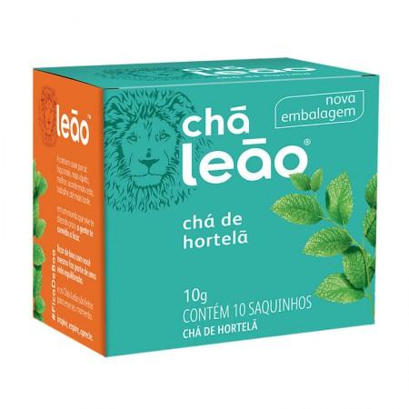 Chá de hortelã - com 10 unidades - Leão Fuze