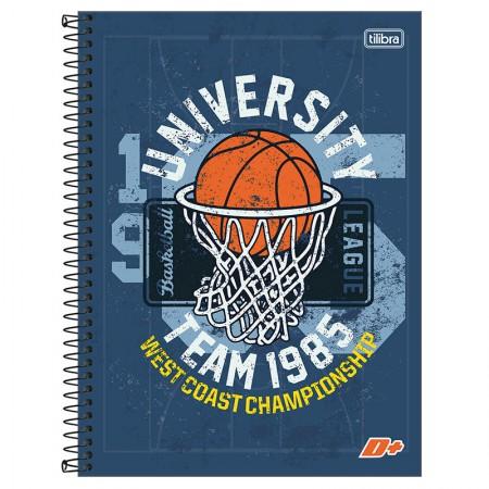 Caderno espiral capa dura universitário 10x1 - 200 folhas - D Mais - Choose Your Weapon - Tilibra