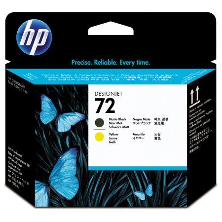 Cabeça de impressão HP Original (72) C9384A - amarelo/preto