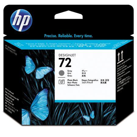 Cabeça de impressão HP Original (72) C9380A - cinza/preto