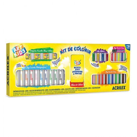 Kit de Colorir - Art kids - 40060 - Acrilex