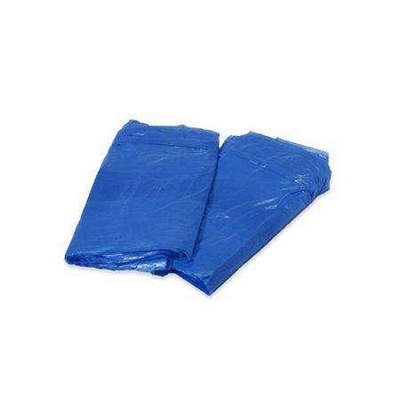 Saco para lixo 60 litros- azul - pacote com 100 unidades