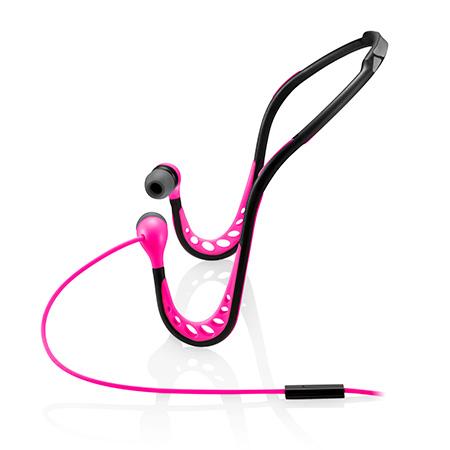 Fone de ouvido Sport arco rosa - PH201 - Multilaser