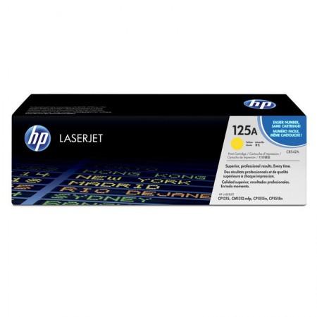 Toner HP Original (125A) CB542AB - amarelo 1400 páginas