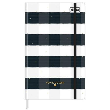 Caderno costurado grande Fitto West Village pontilhado 80 Fls - Xadrez - Tilibra