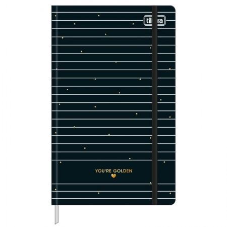 Caderno costurado grande Fitto West Village pontilhado 80 Fls - Bolinha - Tilibra