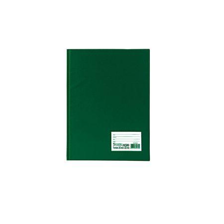 Pasta catálogo com visor - 1028VD - Verde - com 10 envelopes plásticos - Dac