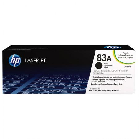 Toner HP Original (83A) CF283AB - preto 1500 páginas
