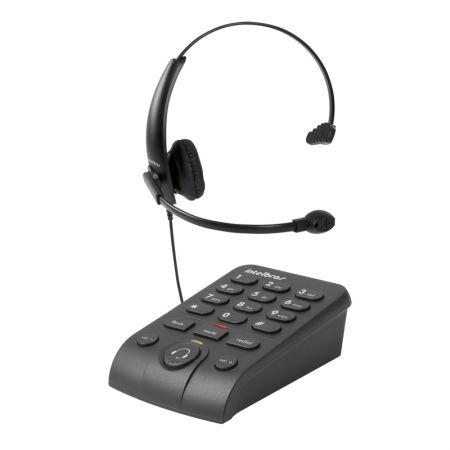 Telefone com headset HSB 50 - Intelbras