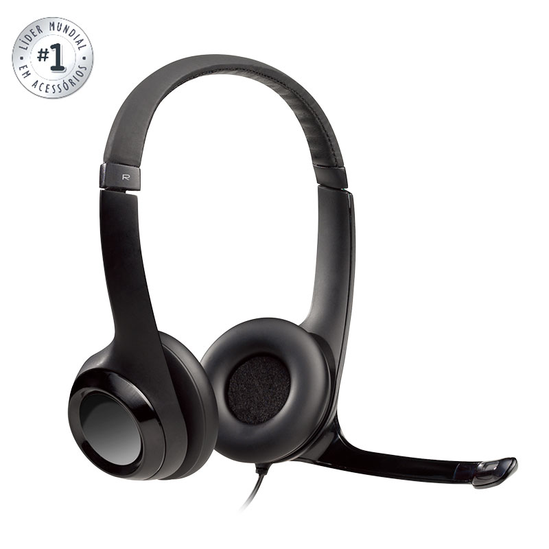 Headset USB H390 Clearchat Comfort - Logitech