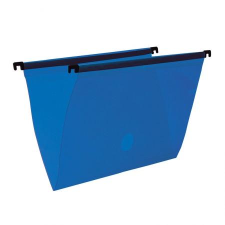 Pasta suspensa transparente - azul - 0005.C - Dello
