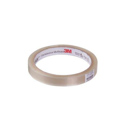Fita adesiva durex transparente - 12mmx50m - 3M
