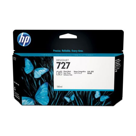Cartucho HP (727) B3P23A - preto photo 130ml
