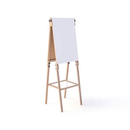 Cavalete flip chart com bandeja Line - Ref. 8187 - Stalo