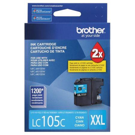 Cartucho Brother LC105C - ciano 1200 páginas